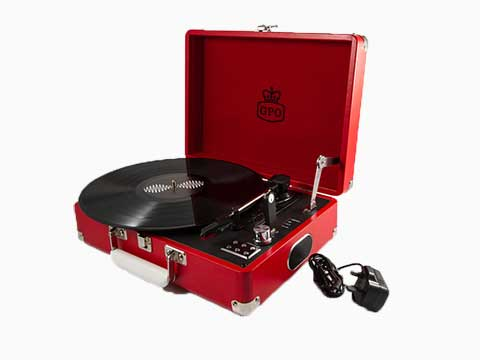 ProTelX Attache Case Record Player