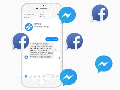 Comapi Facebook Message Me